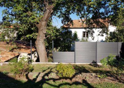 La Goutte d'Eau - Pose clôturela-goutte-d-eau-20181022_155149
